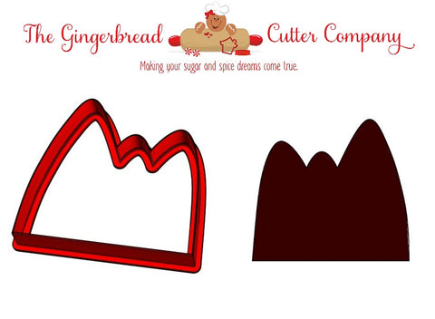 Mountain Cookie Cutter