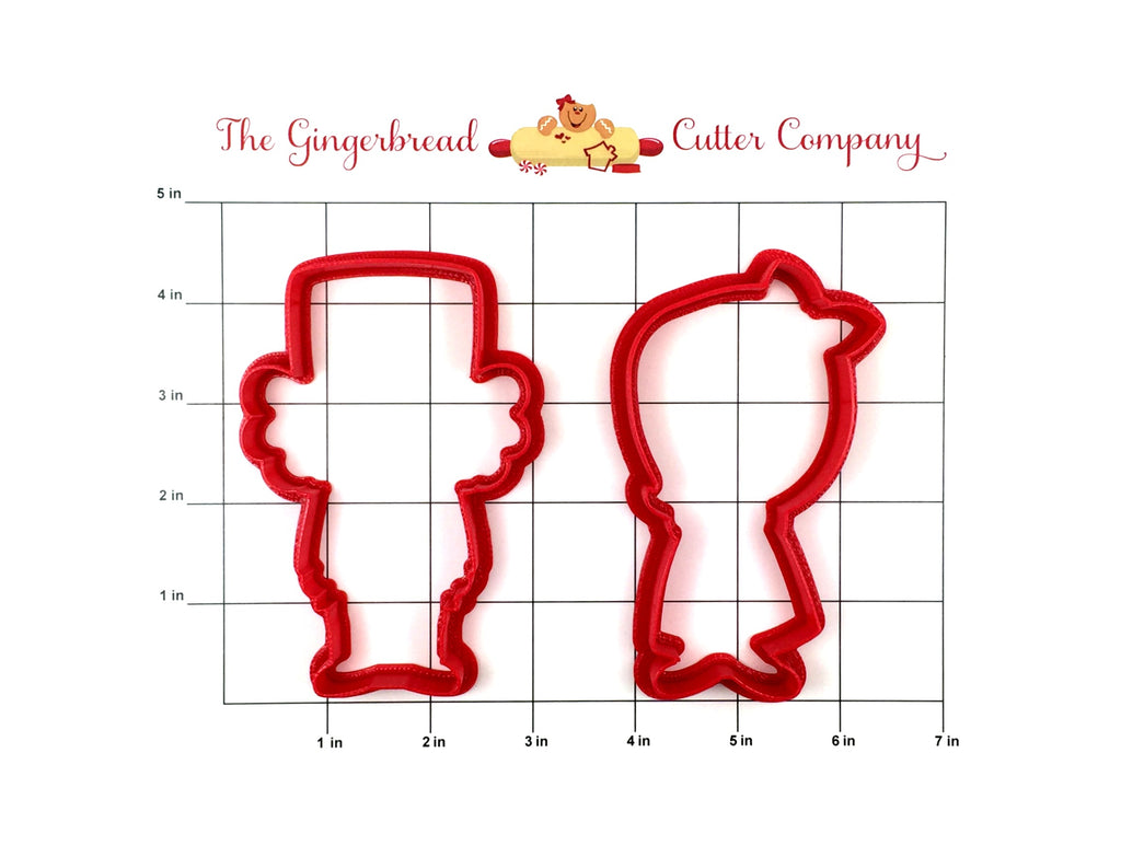 Nutcracker & Clara Cookie Cutter Set