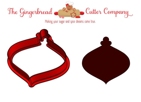 Christmas Ornament - Tear Drop Cookie Cutter
