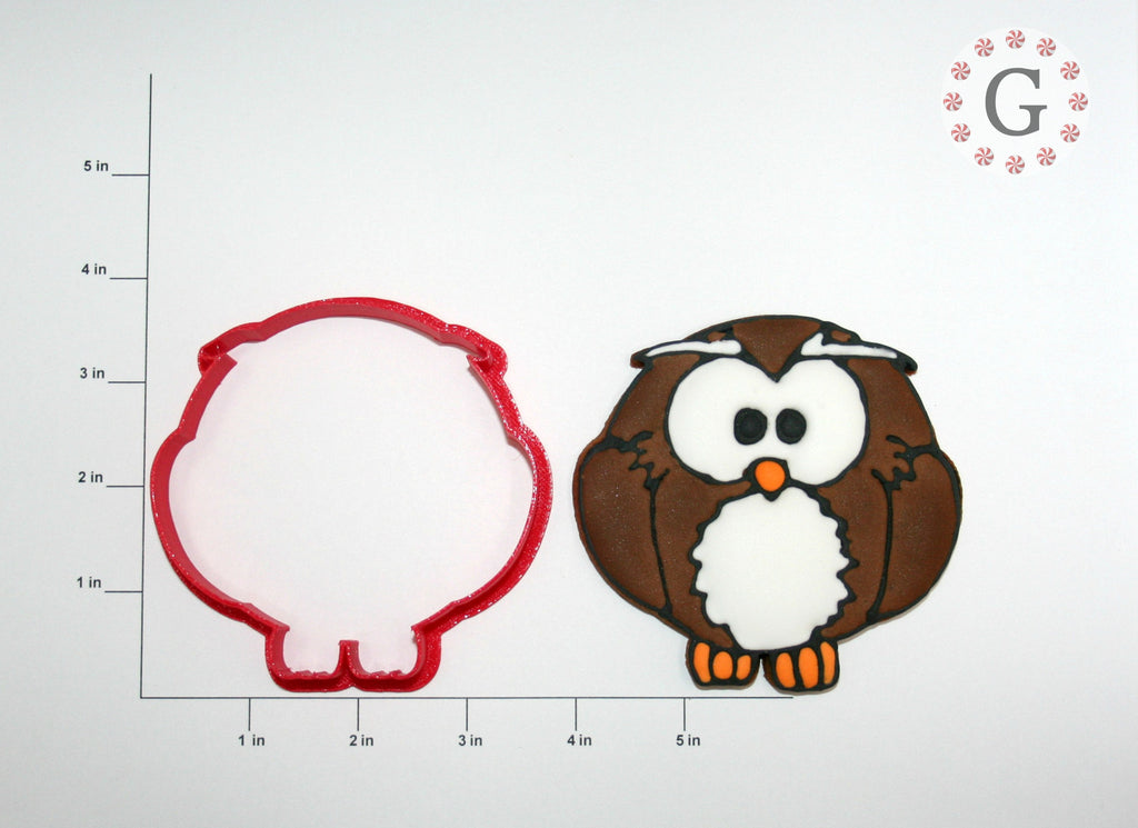 Ollie the Owl Cookie Cutter