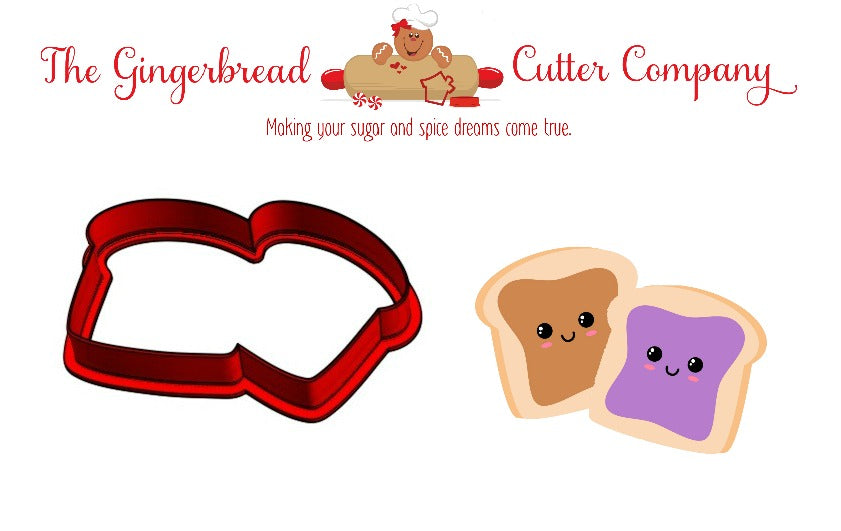 We Go Together Like...Peanut Butter & Jelly Cookie Cutter