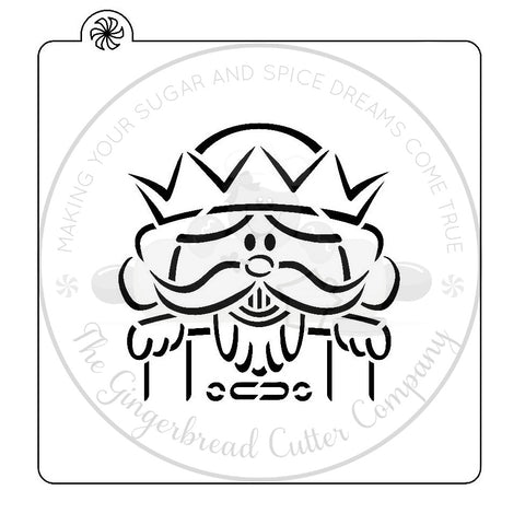 "PYO Stencil - Nutcracker by ""Zee Will Draw"""