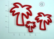 Palm Tree Cookie Cutter - 3 Size Options