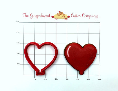 Parisian Heart Balloon Cookie Cutter