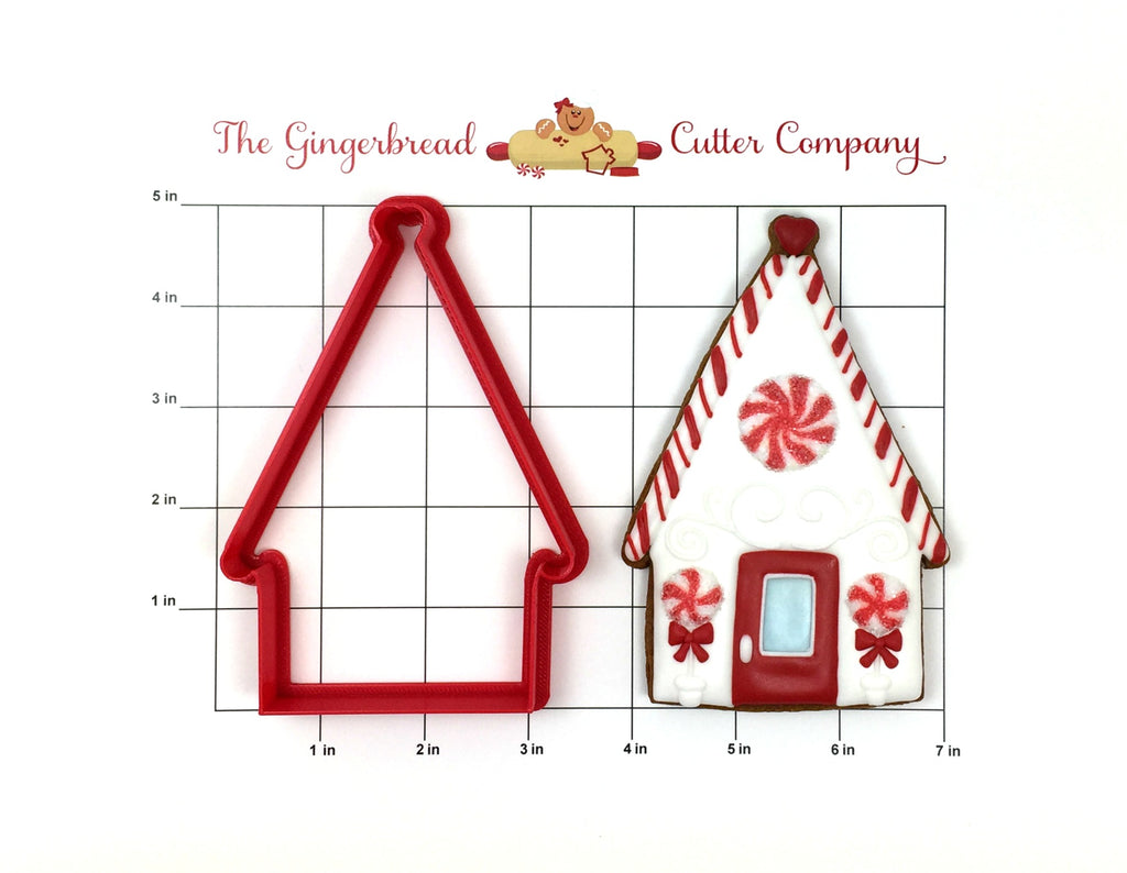 Peppermint House Cookie Cutter