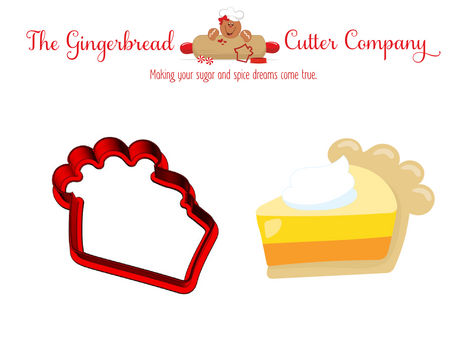 Pie Slice with Whip Cookie Cutter
