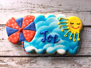 Pinwheel Plaque Cookie Cutter