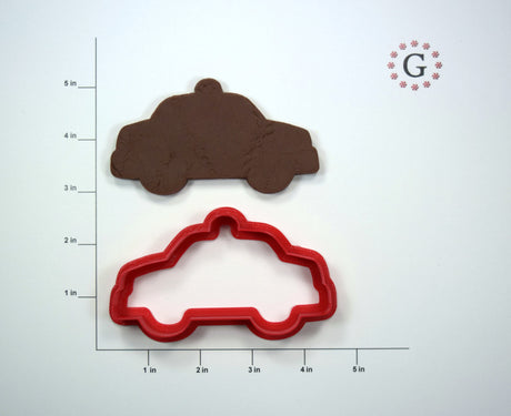 Police Car Cookie Cutter - 3 Size Options