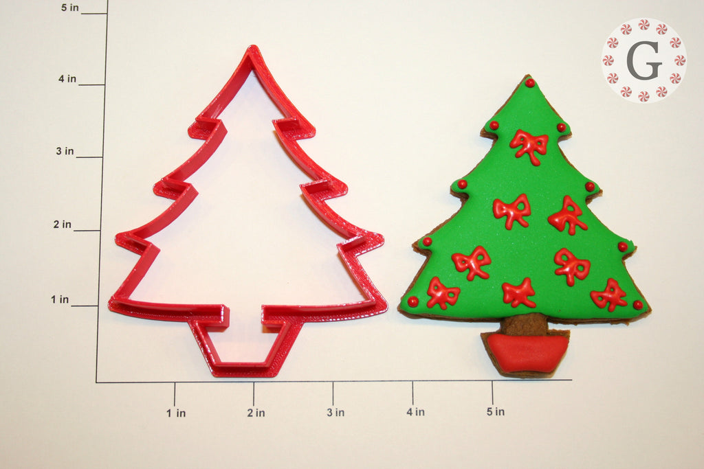Potted Tree Cookie Cutter