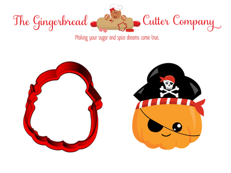 Pumpkin Pirate Cookie Cutter