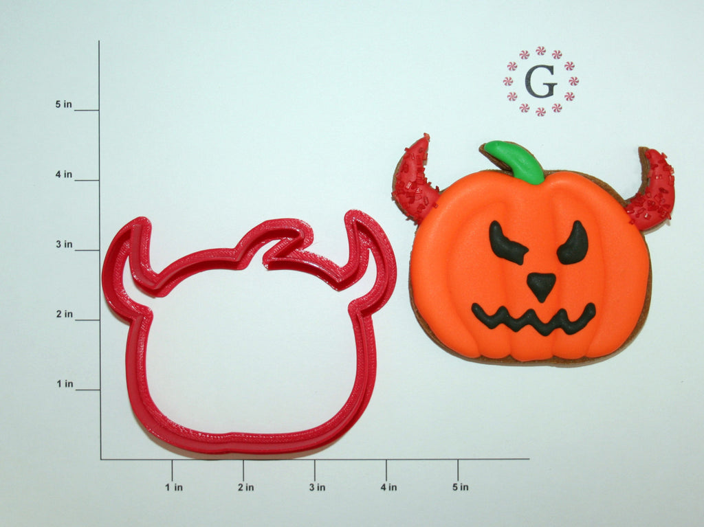 Pumpkin Devil Cookie Cutter