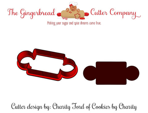 Rolling Pin Cookie Cutter - CAC