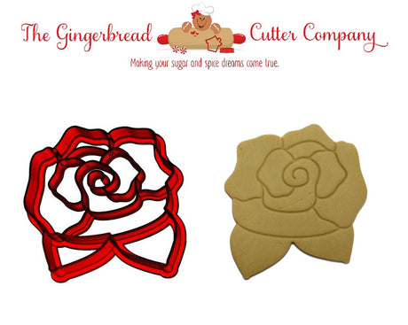 Rose Cookie Cutter - 4 Options