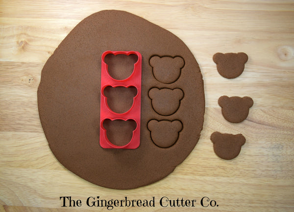 Bear Mini Cookie Cutter Stick