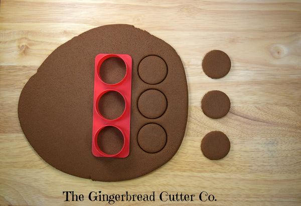 Circle Mini Cookie Cutter Stick