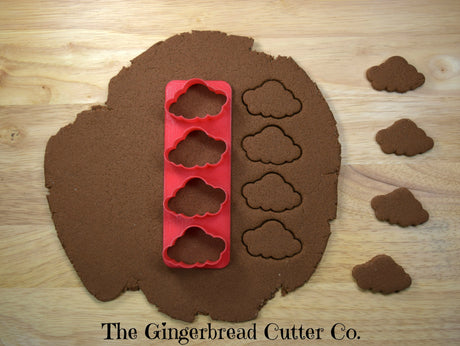 Cloud Mini Cookie Cutter Stick