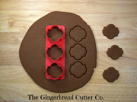 Colette Plaque Mini Cookie Cutter Stick