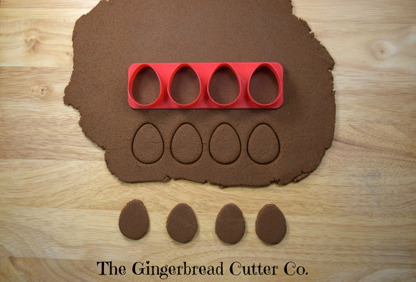 Easter Egg Mini Cookie Cutter Stick
