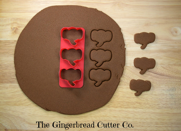 Elephant Mini Cookie Cutter Stick