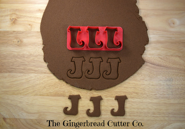Elf Boot Mini Cookie Cutter Stick
