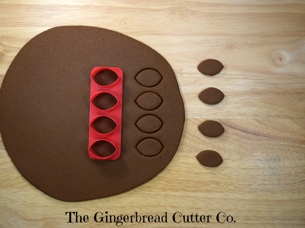 Football Mini Cookie Cutter Stick