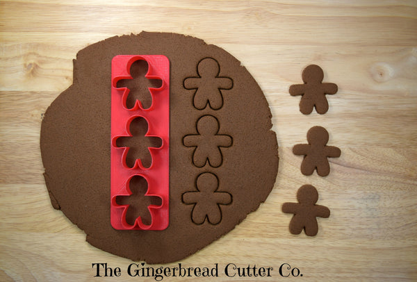 Gingerbread Man Mini Cookie Cutter Stick