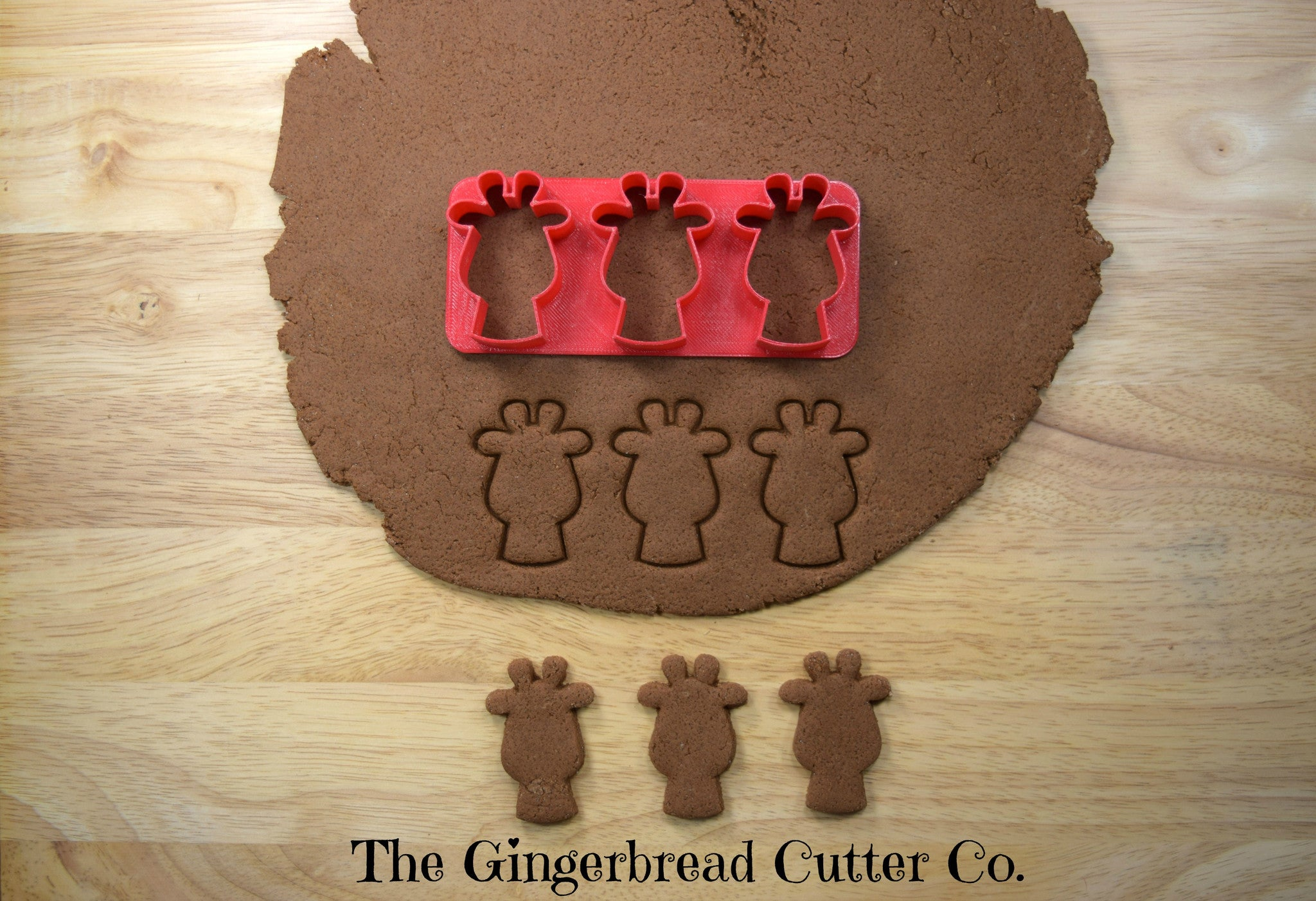 Giraffe Mini Cookie Cutter Stick