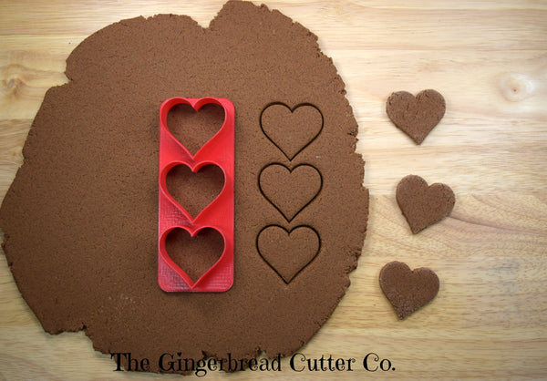 Heart Mini Cookie Cutter Stick