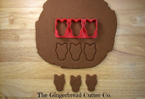 Horse Mini Cookie Cutter Stick