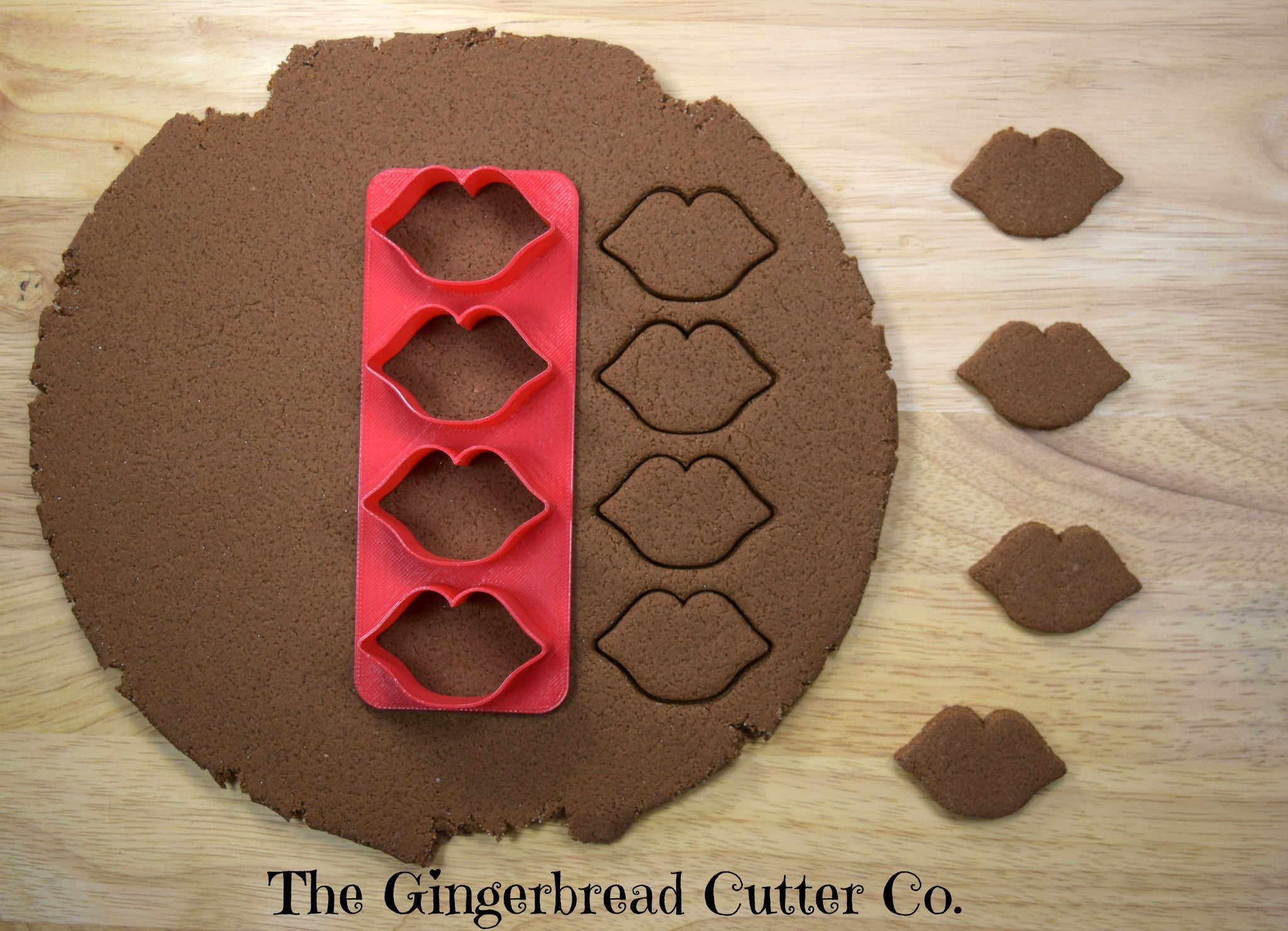 Lips Mini Cookie Cutter Stick