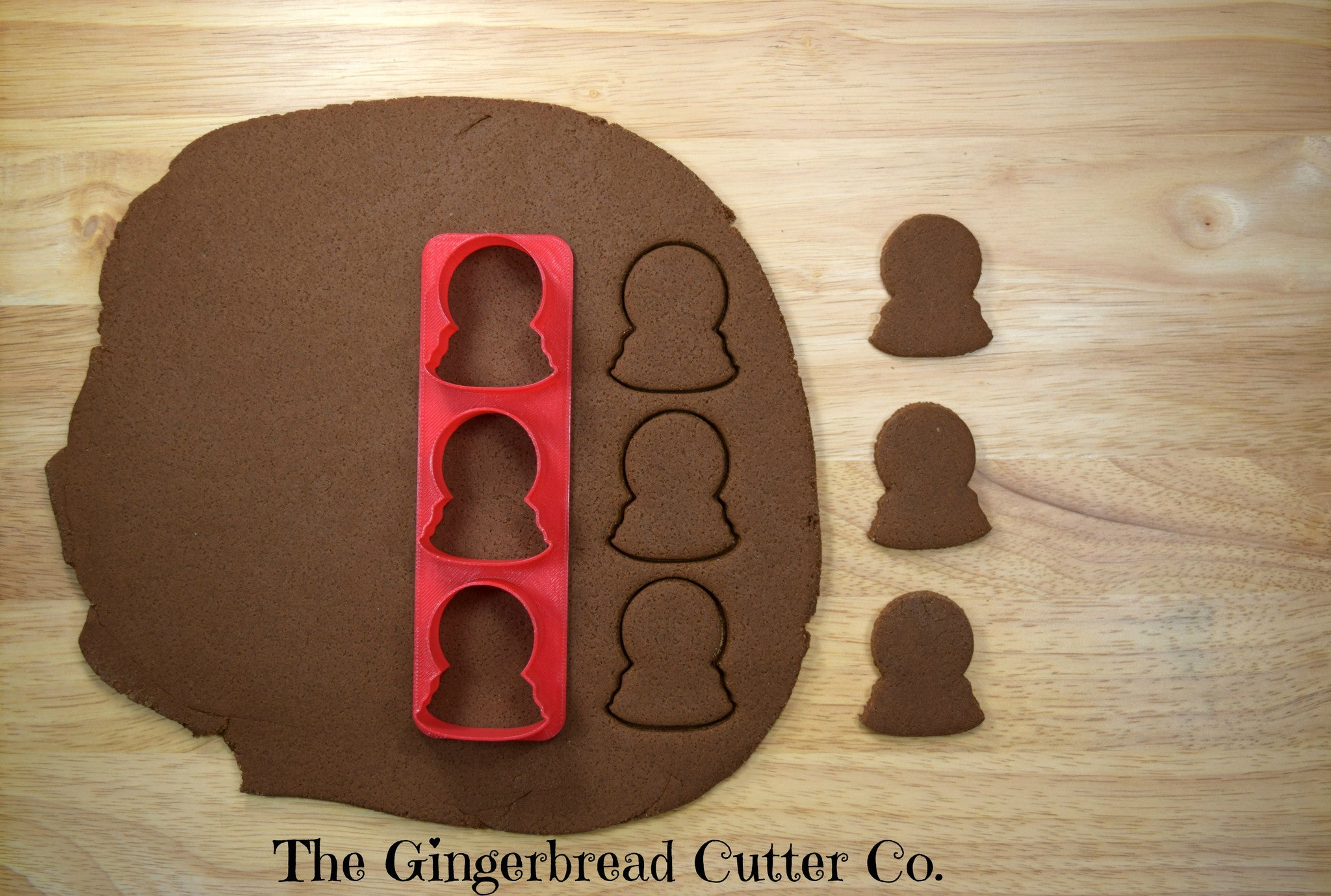 Snowglobe Mini Cookie Cutter Stick