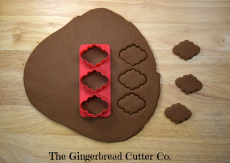 Virginia Plaque Mini Cookie Cutter Stick