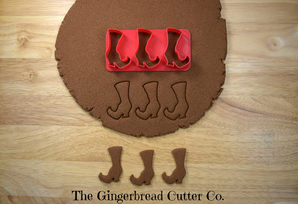 Witch Boot Mini Cookie Cutter Stick