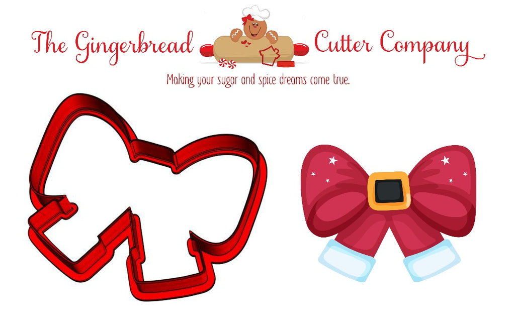 Santa Bow Cookie Cutter