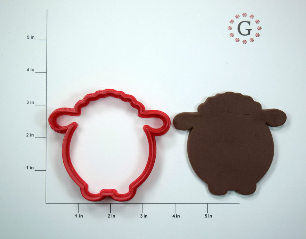 Shep the Sheep Cookie Cutter