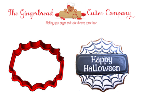 Spider Web Plaque Cookie Cutter