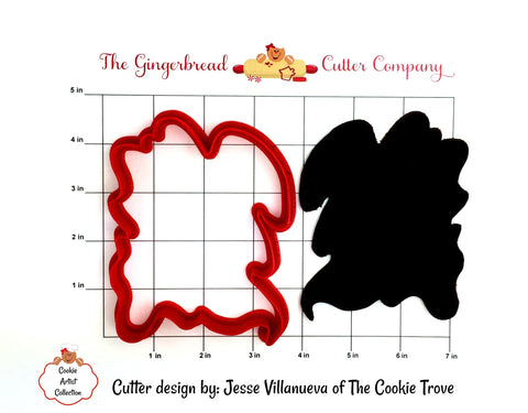 Genie Plaque Cookie Cutter - 2 Size Options