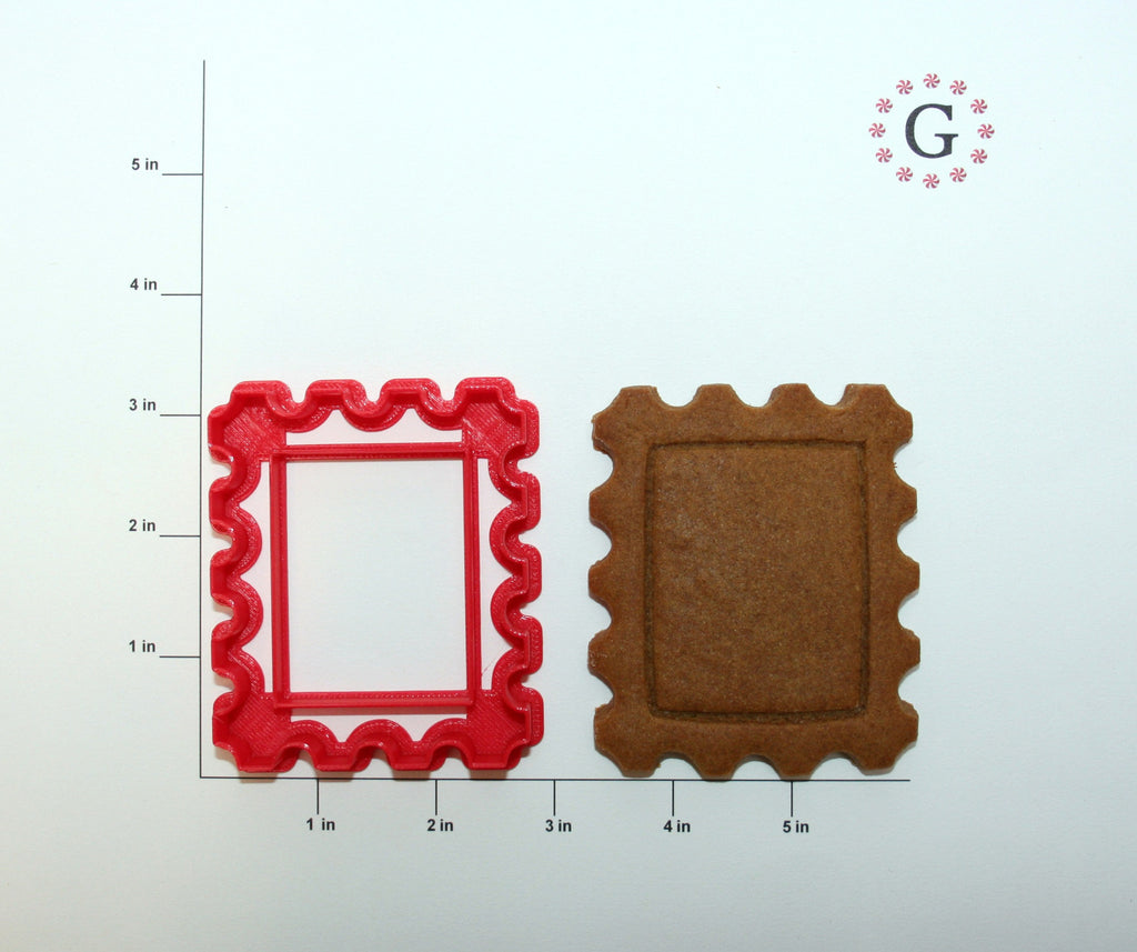 Postage Stamp Cookie Cutter