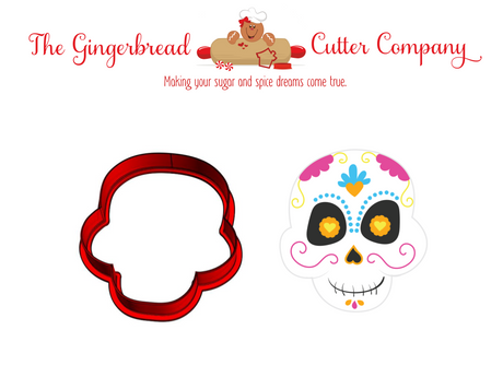 Sugar Skull Style 1 Cookie Cutter