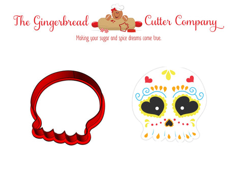 Sugar Skull Style 3 Cookie Cutter