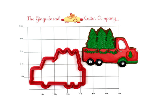 Christmas Tree Farm Truck Cookie Cutter