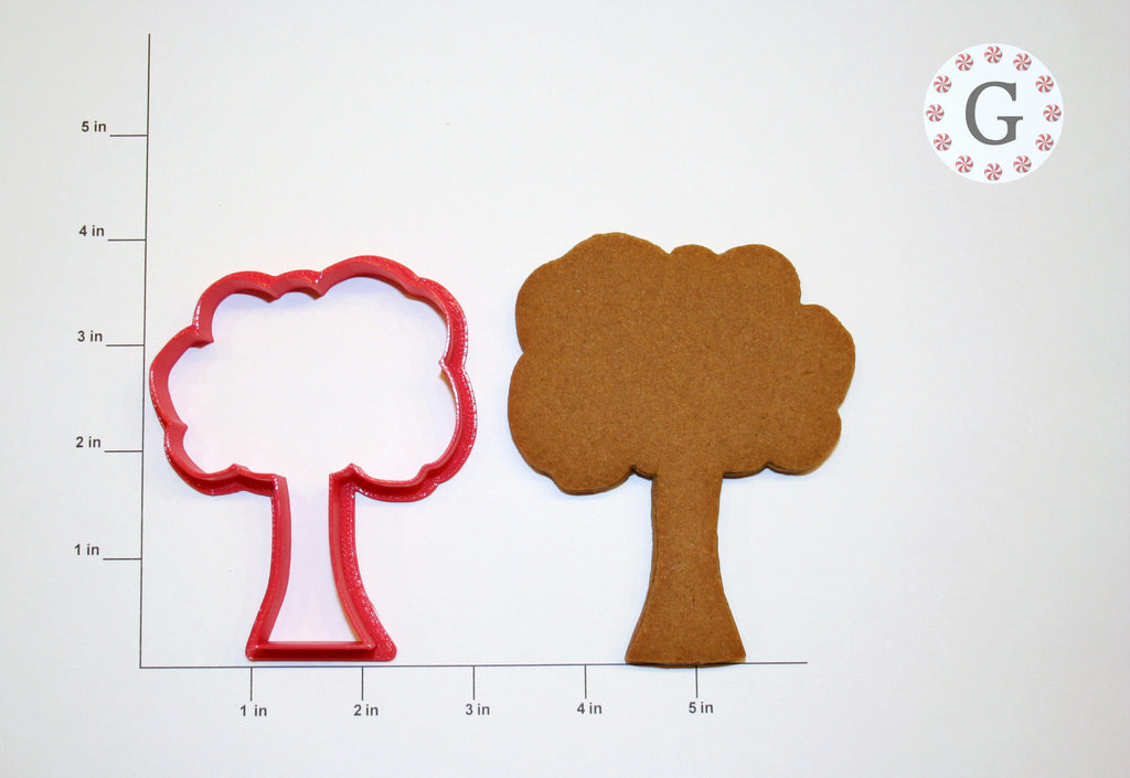 Bushy Tree Cookie Cutter