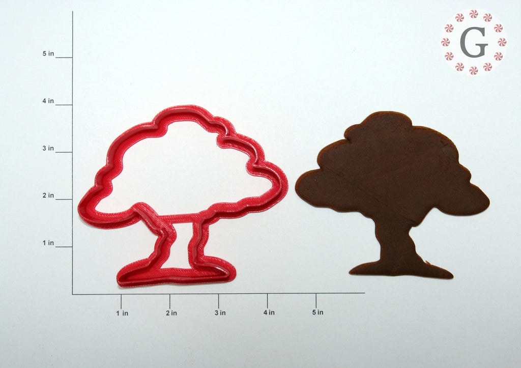 Oak Tree Cookie Cutter