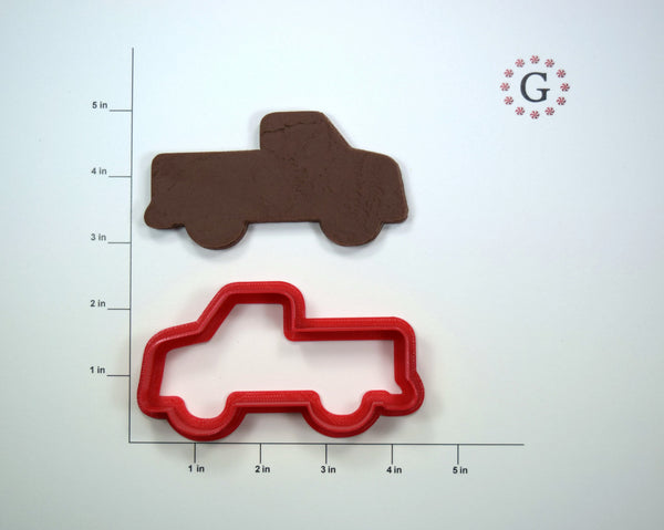 Truck Cookie Cutter - 3 Size Options