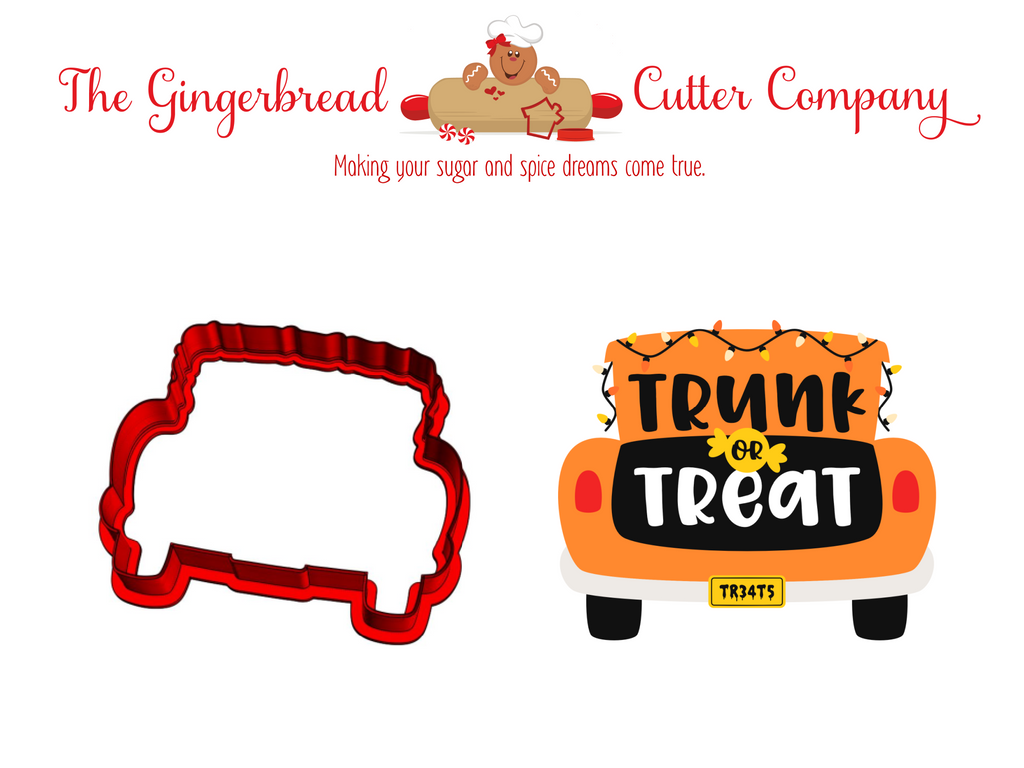 Trunk or Treat Cookie Cutter