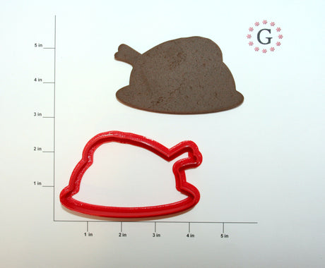 Whole Turkey Cookie Cutter