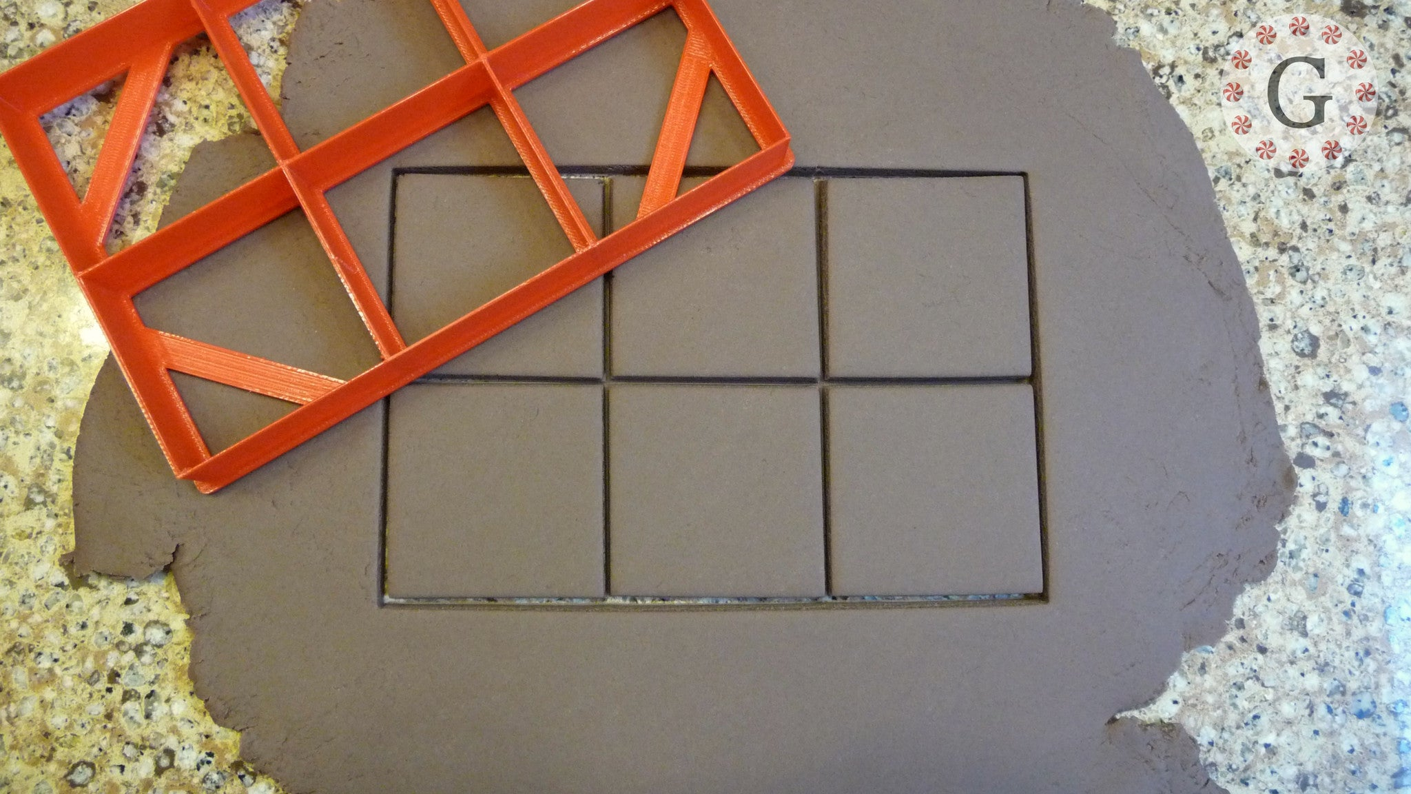2 Inch Square Multiple Cut Cookie Cutter - 3 Size Options