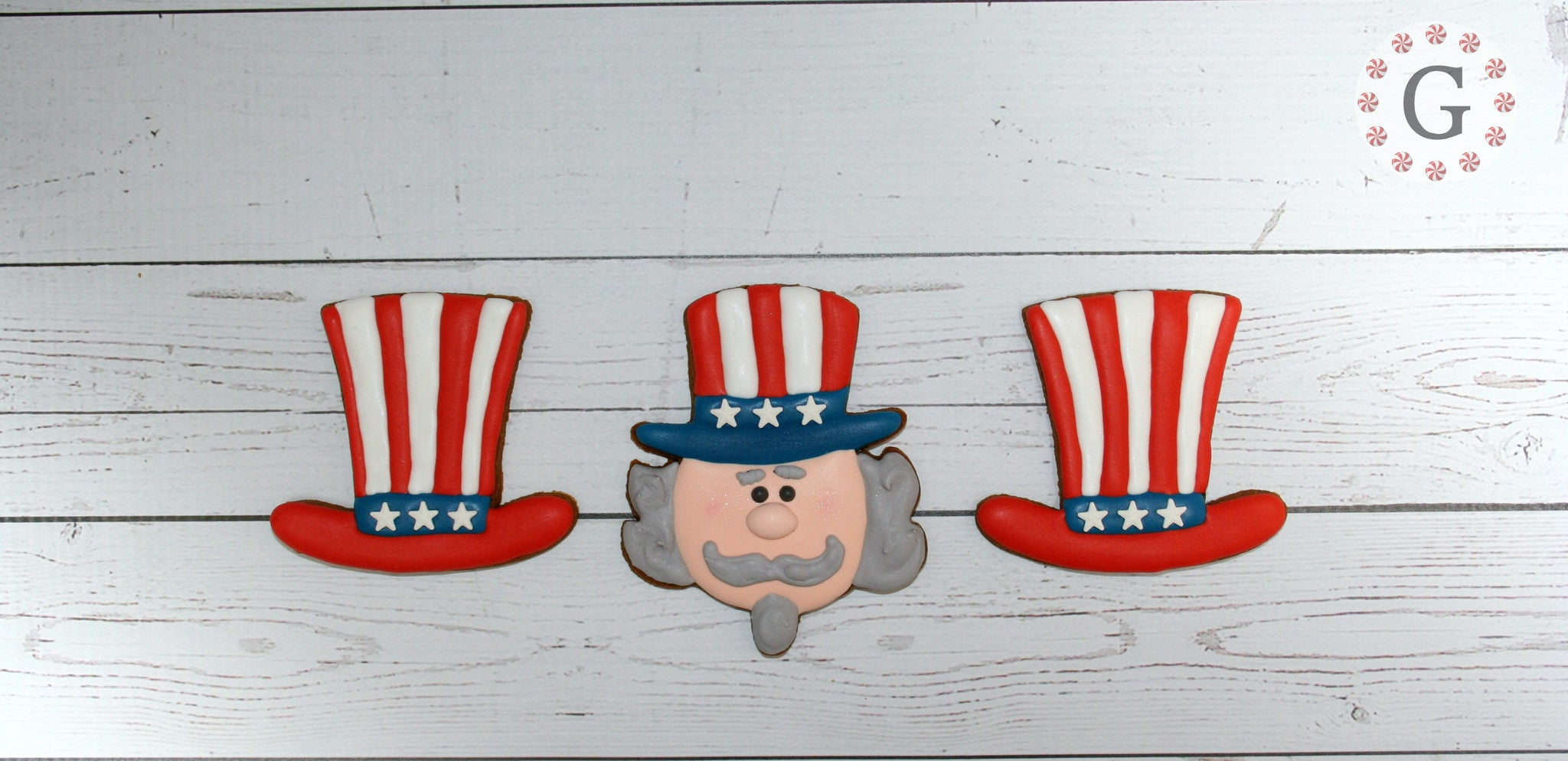 Uncle Sam Hat Cookie Cutter