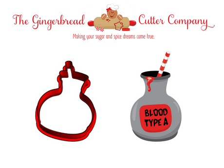 Vampire Drink Cookie Cutter