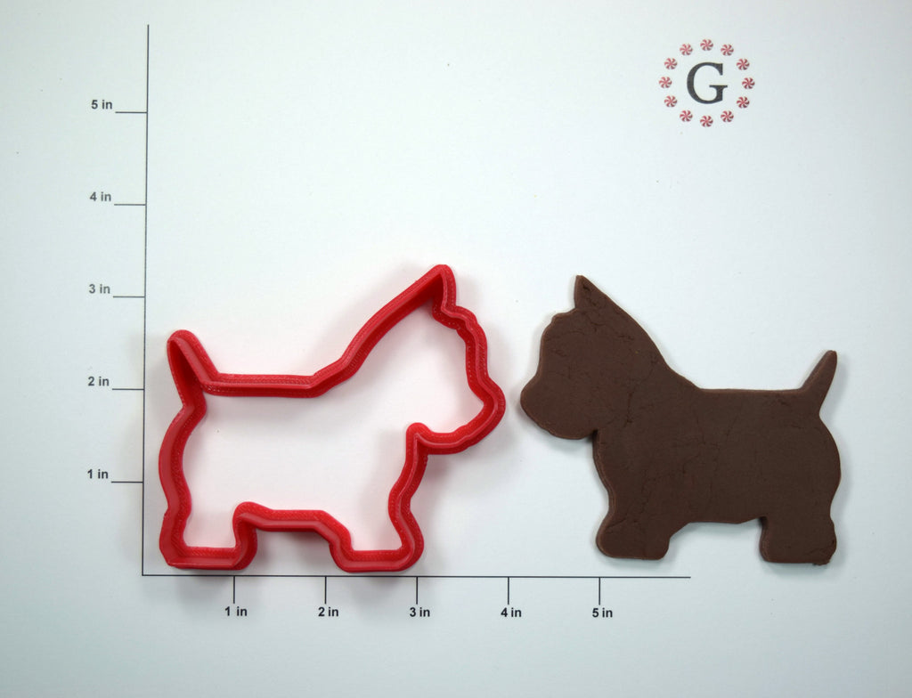 Westie Terrier Dog Cookie Cutter